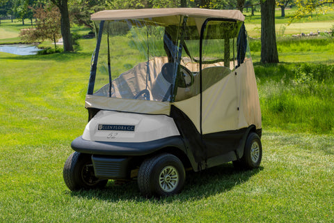 JEF World of Golf Standard Universal 2-Seat Golf Car Enclosure