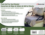 JEF World of Golf Golf Cart Seat Blanket