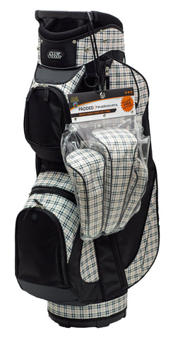 Club Champ Golfer's Bag with Headcovers
