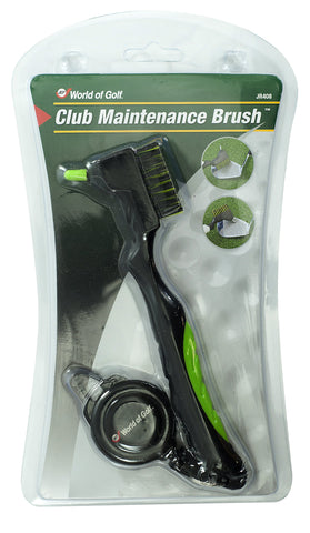 JEF World of Golf Club Maintenance Brush