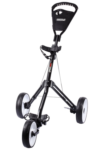 JEF World of Golf 3-Wheeled Push Cart