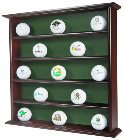 Clubhouse Collection 25 Golf Ball Display Cabinet