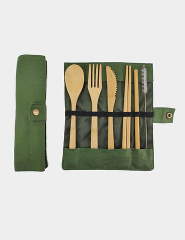 Image of Bamboo Cutlery 6 Piece