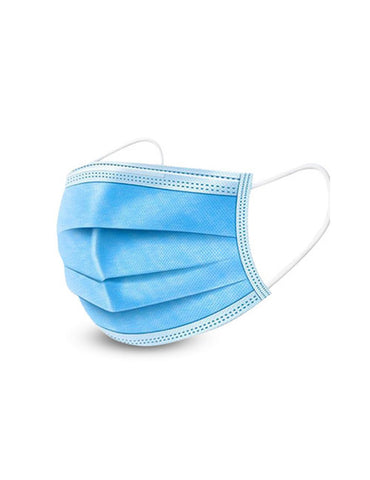 Image of 3 Layer Disposable Face Masks (20 Pieces)