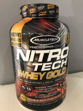Load image into Gallery viewer, Muscletech Nitrotech 100% Whey Gold