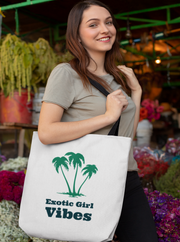 Exotic Girl Vibes Tote Bag