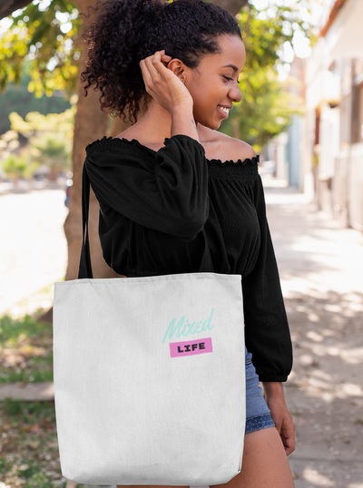 Mixed Life  Tote Bag