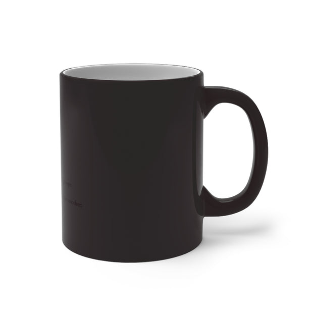 Biracial Defined Color Changing Mug
