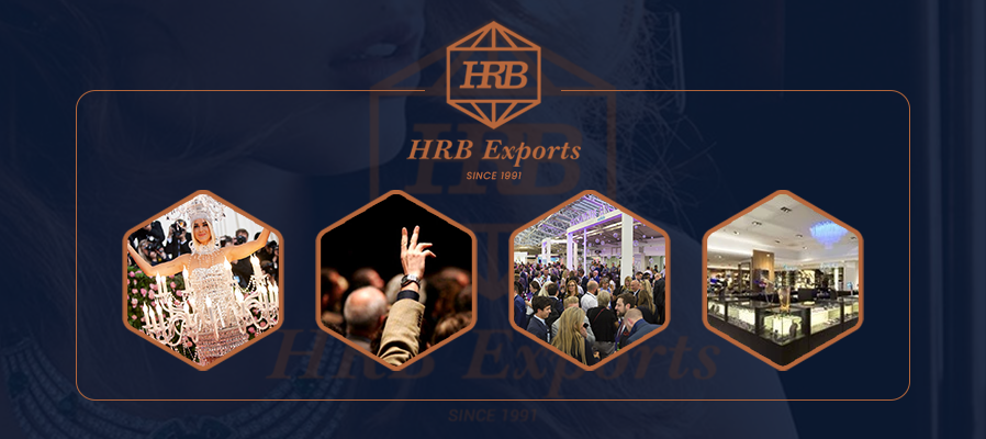DIAMOND JEWELLERY EVENTS OF HRB EXPORTS