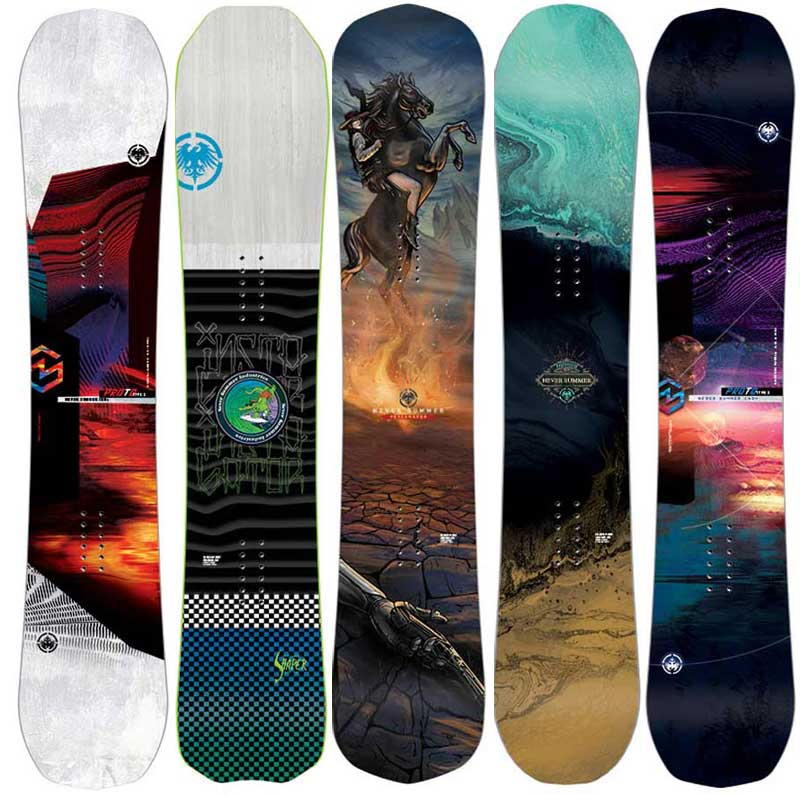 2020 Never Summer snowboards