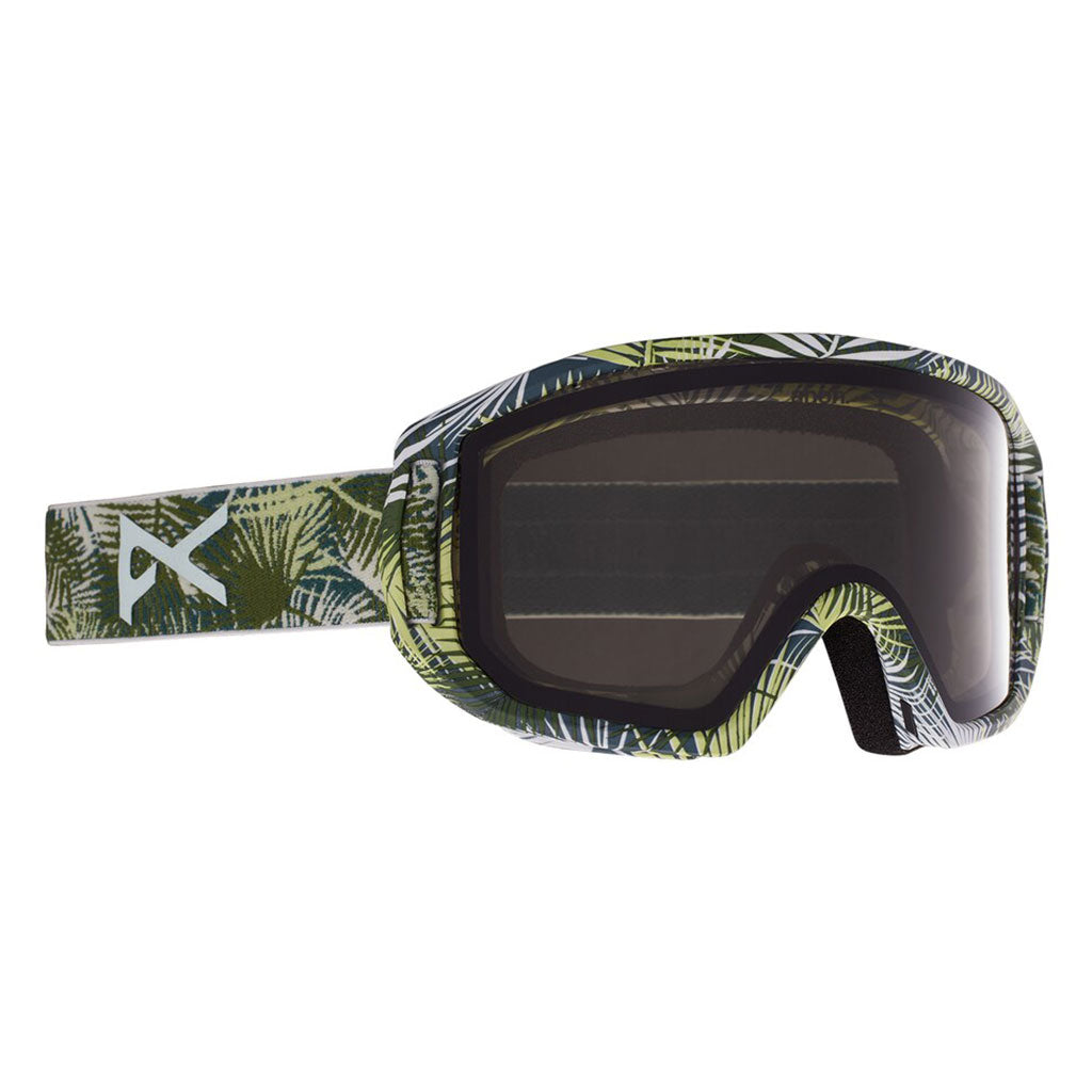 Anon 2021 Relapse Junior MFI Goggle - Camo Green/Smoke