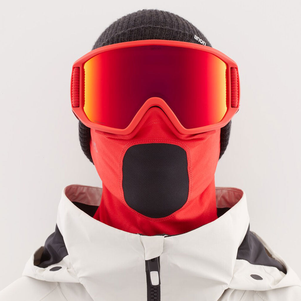Anon 2021 Relapse MFI Goggle - Red/Sun Red