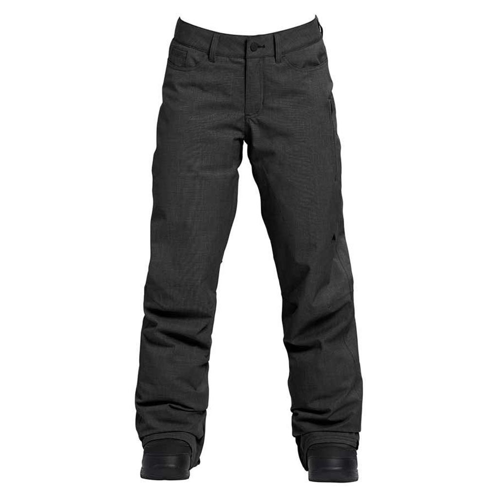 Burton 2019 Tall Fly Womens Pant - True Black Heather - Sale