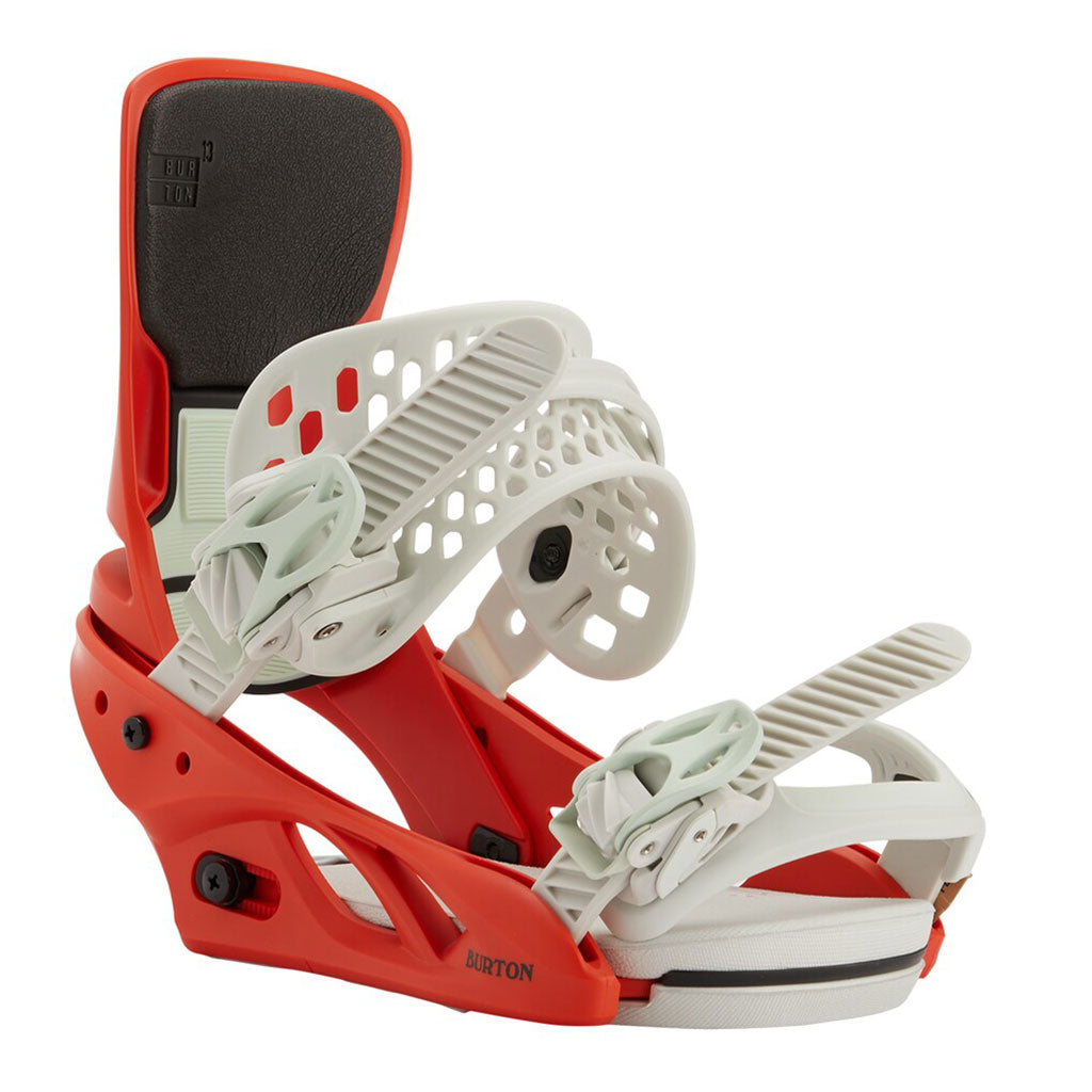 Burton 2021 Lexa X Womens Bindings - Bright Red