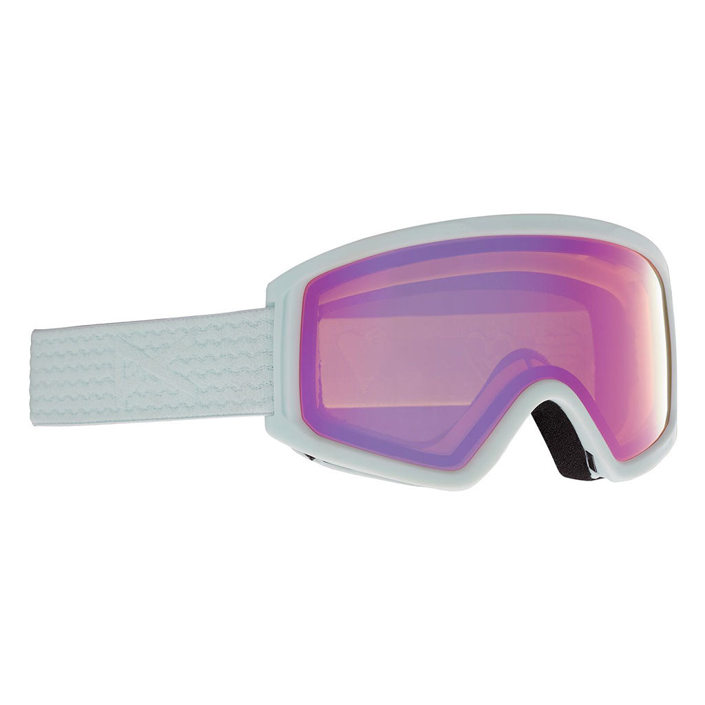 Anon 2021 Tracker 2.0 Kids Goggle - Powder/Pink Amber