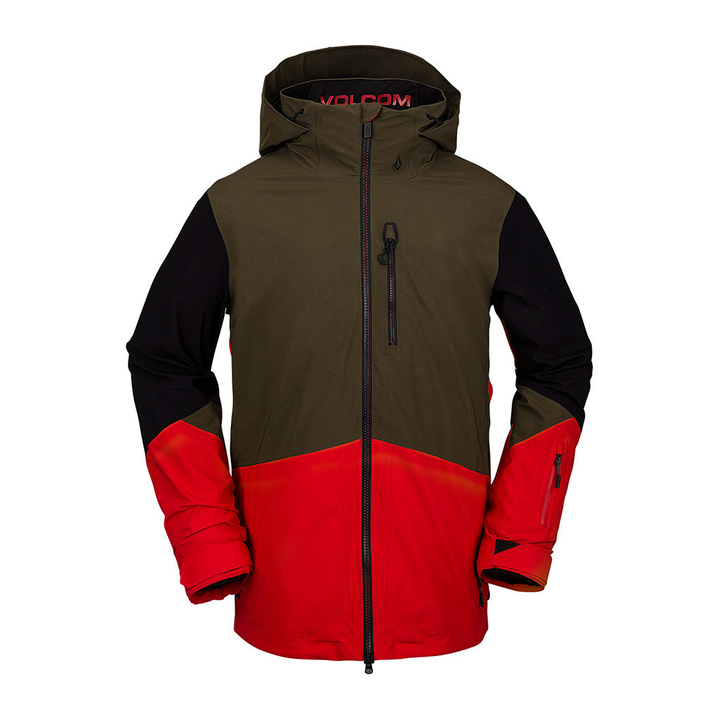 Volcom 2021 BL Stretch Gore-Tex Jacket - Red