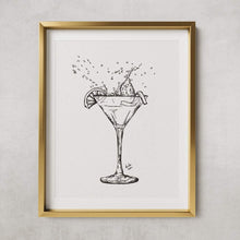 Load image into Gallery viewer, Cosmopolitan cocktail - PRINT