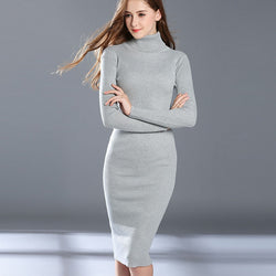 Sweater Knitted Dresses