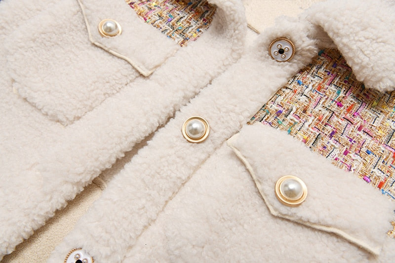Lambswool Shearling Jacket