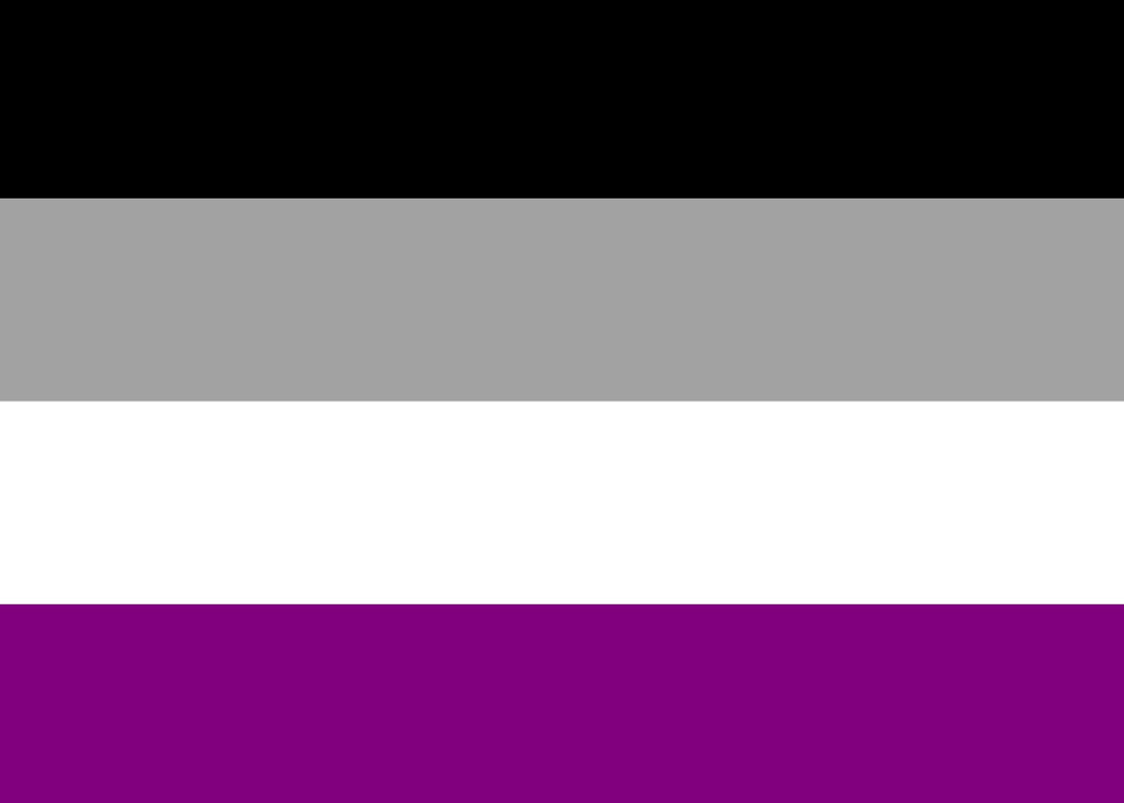 Asexual Pride Flag - Tully Crafts
