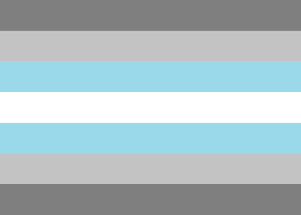 Demiboy Pride Flag - Tully Crafts