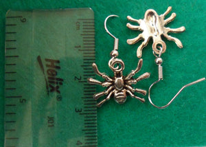 Crawling Spider Earrings