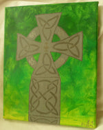 Load image into Gallery viewer, Celtic Cross by S.A.Flaim - Tully Crafts