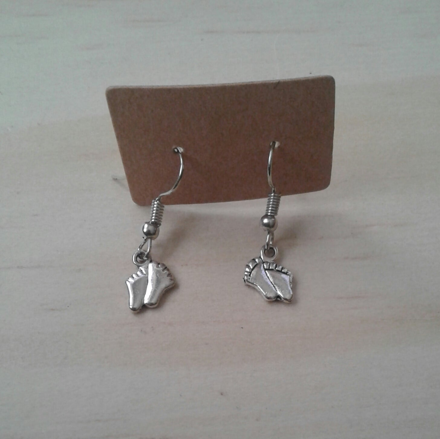 Footprint Earrings - Tully Crafts