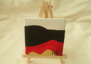 Dreams Mini Easel Art by S.A.Flaim - Tully Crafts