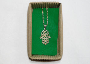 Hamsa Hand Necklace - Tully Crafts