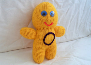 Intersex Knitted Mascot Doll - Tully Crafts
