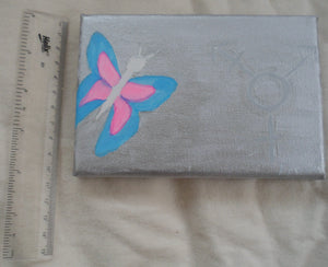 Trans Symbol with Butterfly by S.A.Flaim - Tully Crafts