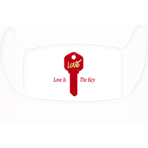LoveKey face mask, Love is the Key Face Mask