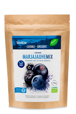 Biokia Super Berries Powder - Blue Berries Mix 150g