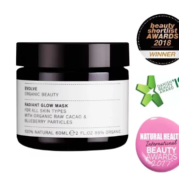Evolve Organic Beauty - Radiant Glow Organic Mask 30ml