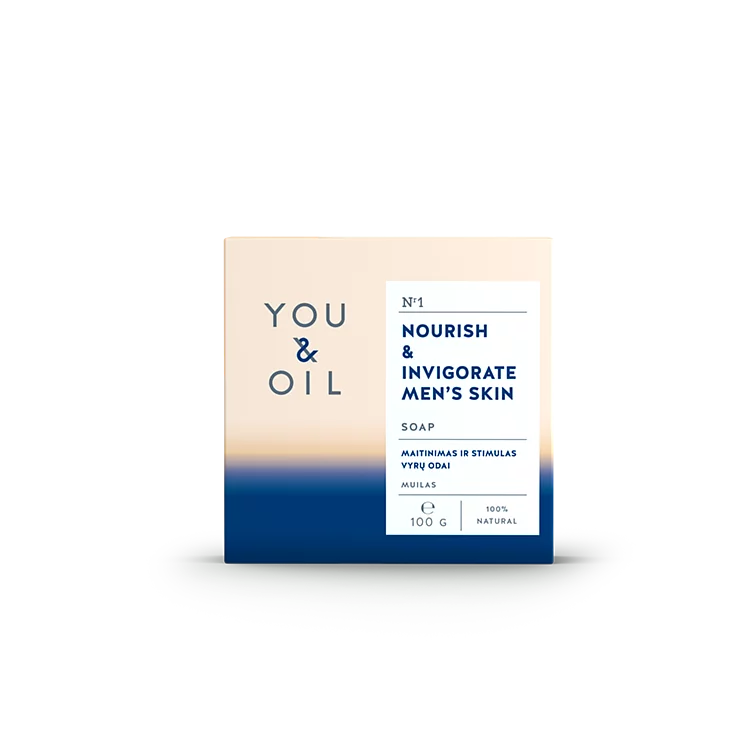You and Oil, Nourish & Invigorate Soap for Men
