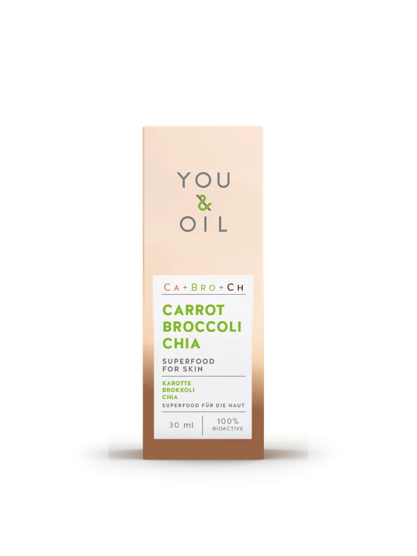 You and Oil, Carrot Broccoli Chia Serum