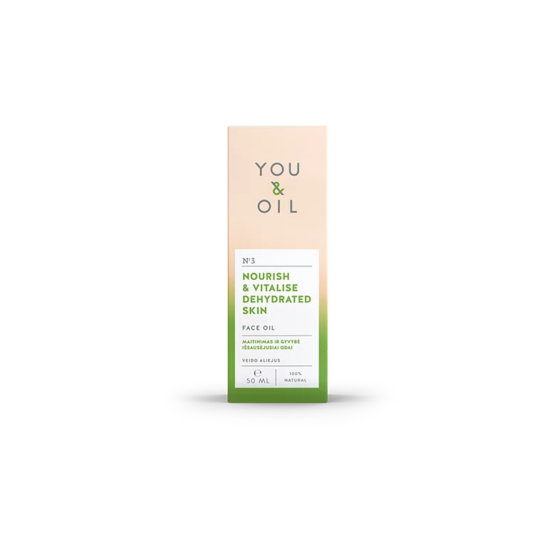 You and Oil Face Oil for Dehydrated Skin