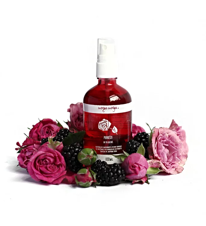 Uoga Uoga, Organic Rose Tonic with Blackberry Extract