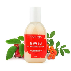 Uoga Uoga, Natural shampoo with rowan & rosehip berries for dry hair