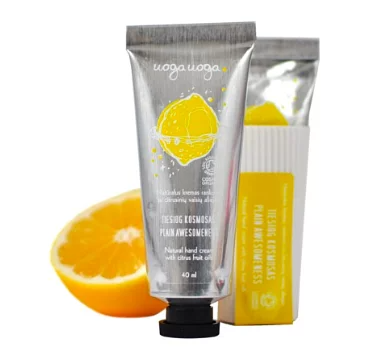 Uoga Uoga, Natural hand cream - with citrus fruit oils