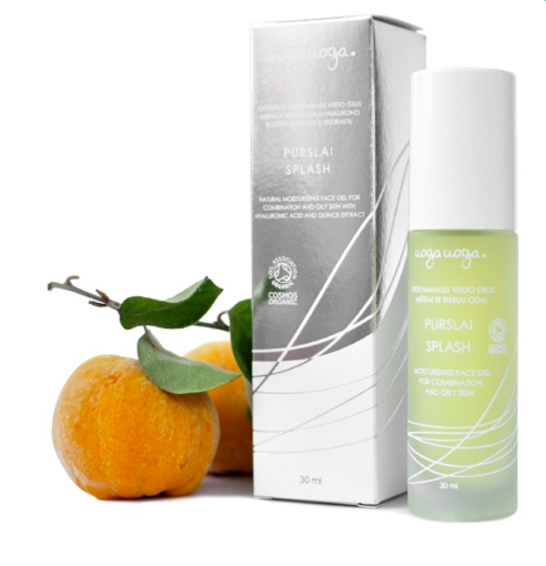 SPLASH, Natural moisturising face gel with quince extract