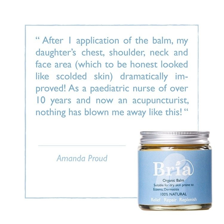 Bria Organic Balm Prone to Eczema, Dermatitis & More x 2