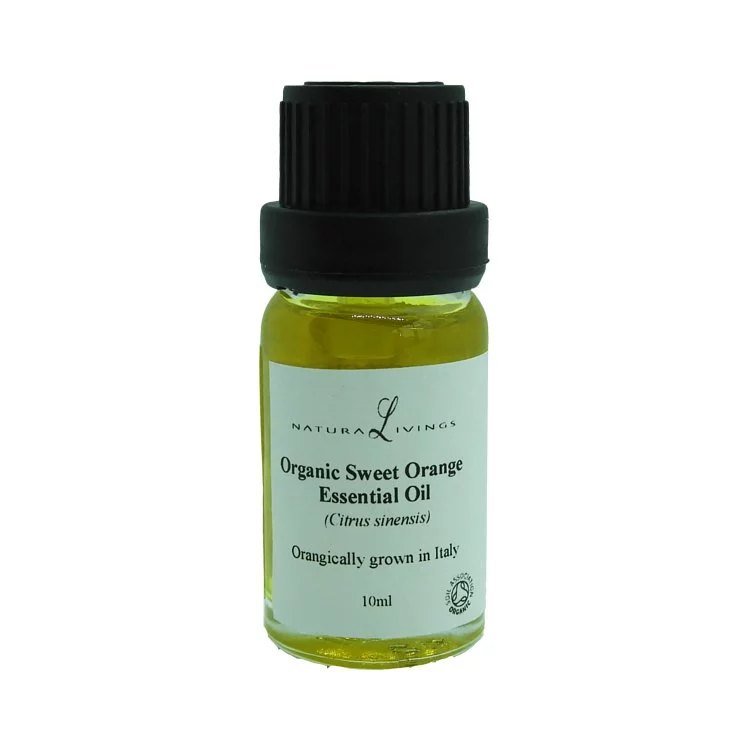 Organic Sweet Orange Essential Oil (Citrus sinensis)