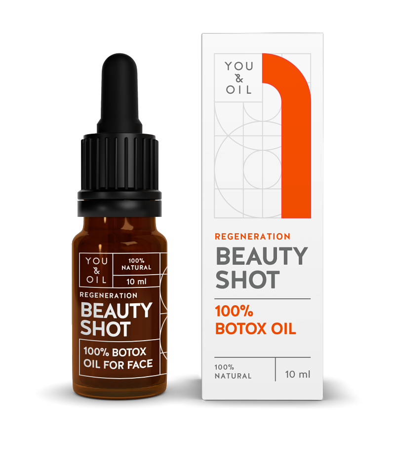 You and Oil - Beauty Shot, Anti-wrinkle serum
