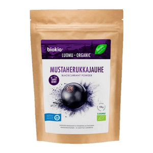 Biokia Super Berries Powder - Blackcurrant 150g