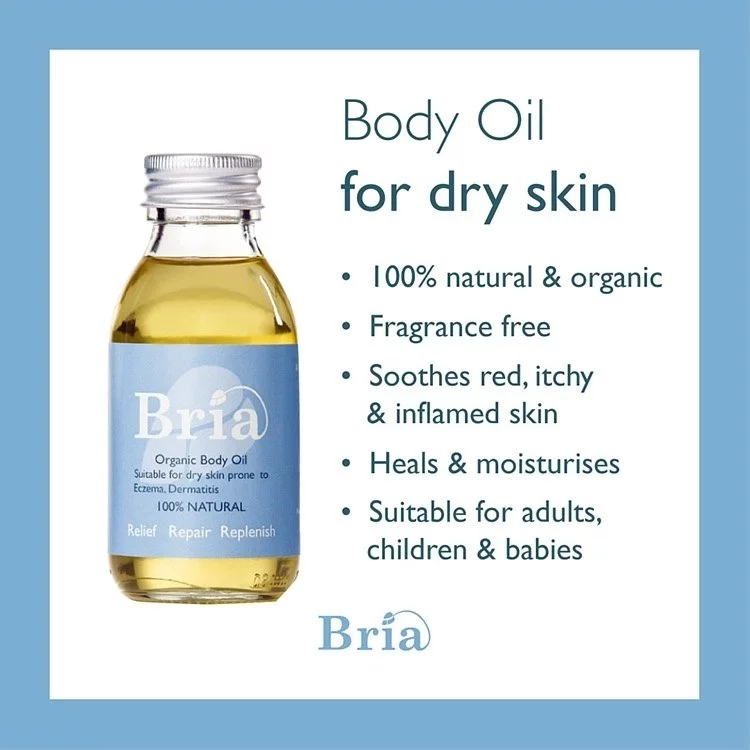Bria Organic Body Oil (Prone to Eczema, Dermatitis)