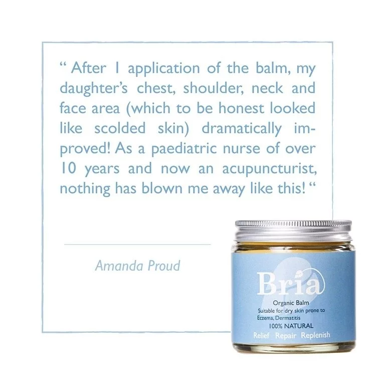 Bria Organic Balm Prone to Eczema, Dermatitis & More