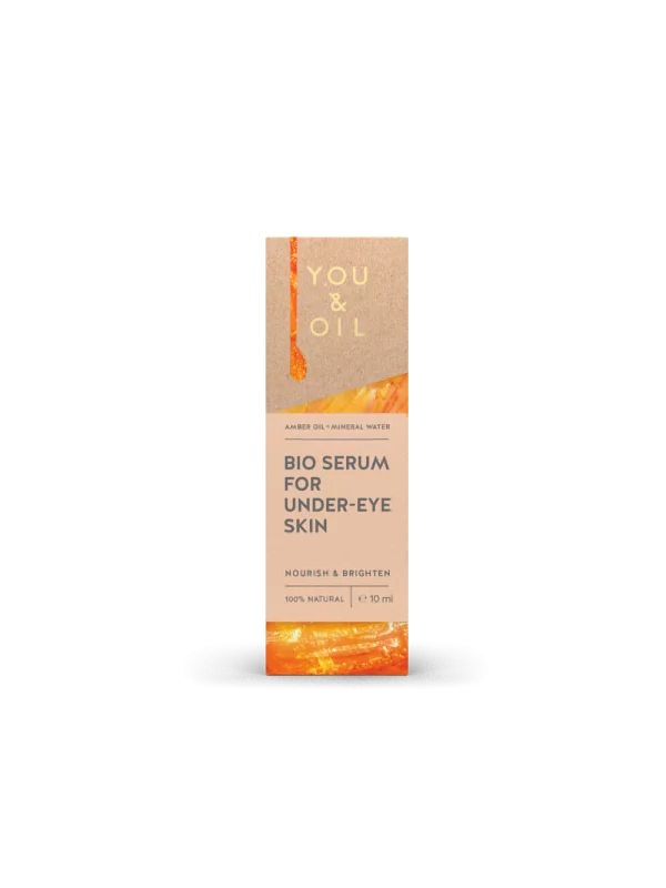 You and Oil, Amber BIO serum for under-eye skin