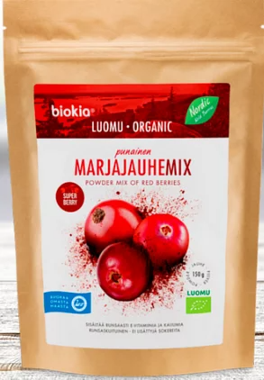 Biokia Super Berries Powder - Red Berries Mix 150g